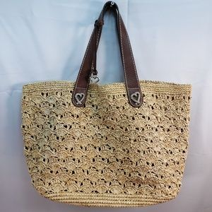 Brighton Straw Carryall Tote